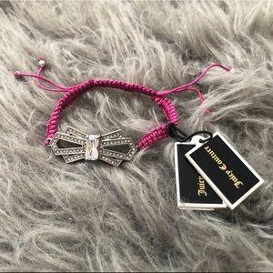🛍2/$35 Juicy Couture Deco Bow Friendship Bracelet